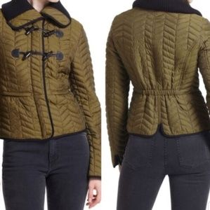 Anthropologie Cartonnier Uster Quilted Jacket  12